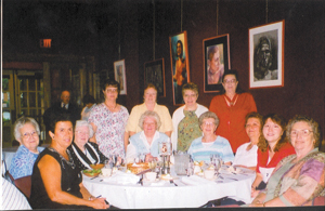 The Lamplighters Home Ec Club recently attended the Arena Theater to celebrate their club's 50th year anniversary.