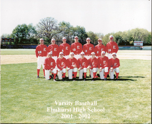 Top row (L-R):   Casey Hale, Mike Miller, Chad Teetsel, Ben Stiffler, John Gayday, Greg Kreiger, Coach Mark Koos Bottom row (L-R):  Mike Ybarra, Travis Sliger, Ryan Potchka, Steve Purdy, Andy Piatt, Ryan Shaffer, Dwayne Brown. Not shown: Eric Sherrill, Cole Hale, Bryan Cox
