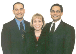 (L to R) Kevin Letz, N.D., Jeannie Giese, N.P., and Dr. Williams Smits