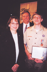 Joan and Robert Felicichia are the proud parents of Eagle Scout Stephen Felicichia.