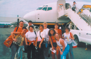 (l-r) Front row: Gail Campbell, Lisa Lynch, Jessica Shirey, Kayte Thompson and Kara Graham. Back row: Mike Brown, Ryan Haynes, Deborah Spillner, Cheryl Pollock and Tonya Williams.
