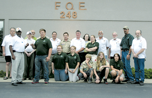 FOE #248 RAISES $1270 FOR SCOUTS