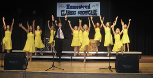 SHOW CHOIR COMPETES AT  TWO LOCAL COMPETITIONS