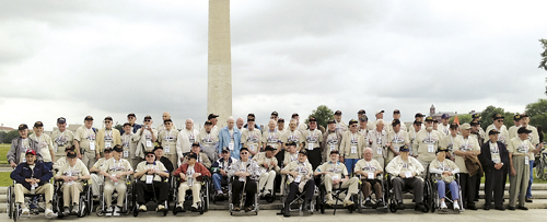VETERANS FLY TO WASHINGTON, D.C.