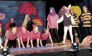 "STUDENTS PERFORM IN  ""ALICE IN WONDERLAND JUNIOR"""