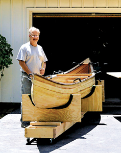 HAND BUILT CANOE  IN WAYNEDALE