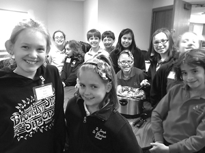 4TH GRADERS MAKE AND DELIVER SOUP TO HOSPICE HOME