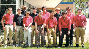 Eagle Scouts at Luers HS