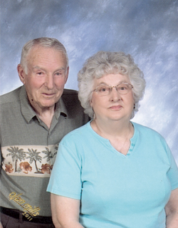 William E. and Edith (Pfeiffer) Armington will celebrate their 60th anniversary with family.