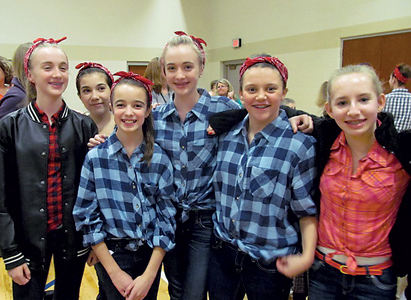 Saint Elizabeth Ann Seton Catholic School 8th grade girls enjoyed dressing up for the 1950s Era Day & the Sock Hop.