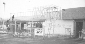Umber's Ace Hardware, the early years on Lower Huntington Road (photo from The Waynedale News archives).