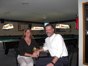 Owners Roy and Laurie Duff from Gio's.