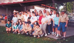 """End of Summer"" Picnic Volunteers. Thanks everyone!"
