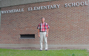 Kent Martz, is the 15th principal at Waynedale Elementary. The school began in 1874.