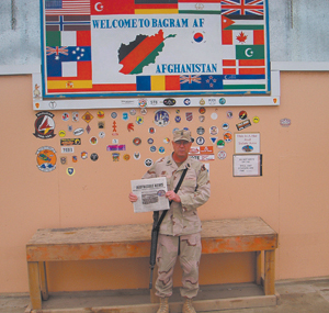 The good old Waynedale News in Afghanistan!