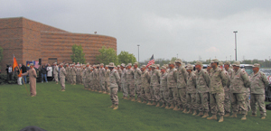 Local Army Reserve Unit 221st Ordnance ended their year long Afghan tour on Tuesday, May 2, 2005. The 140 members returned to Fort McCoy, Wisconsin on Thursday, April 28, after a 3-5 day demobilization process, they returned to their families in the Fort Wayne area.