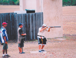 Abe Shelley wins World Skeet shoot