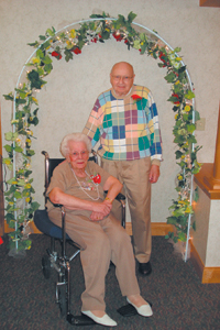 Wendall and LaVera Heckley - married for 68 years.