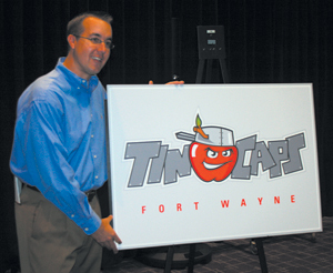 General Manager Mike Nutter of the Fort Wayne TinCaps