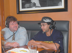 """Andre Hollis, Defensive Back for the Freedom, joins Dean Jackson, host of """"Freedom Football Focus"""". The broadcast is presented live from Granite City Brewing Company each Wednesday evening from 5:30pm – 7:30pm."""