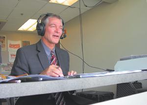 """You're watching the TinCaps on Comcast,"" announces Kent Hormann."