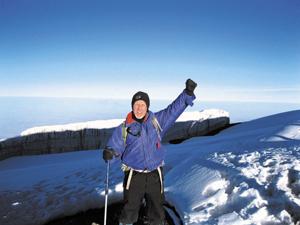 Tom Blake climbs Kilamanjaro
