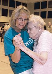 Edna Braun 105 years old
