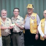 WAYNEDALE LIONS CLUB GIVES
