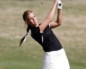 Kristi O'Brien of IUPUI's Womens golf team