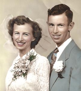CRIST CELEBRATES 60TH WEDDING ANNIVERSARY