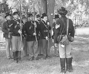 DEFENDING THE UNION ON MEMORIAL DAY
