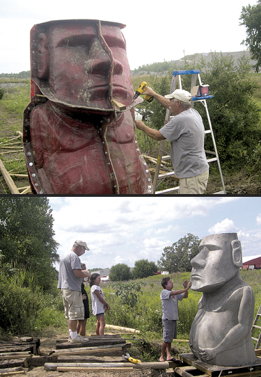 EASTER ISLAND, THE JOURNEY, WAYNEDALE, PART 1