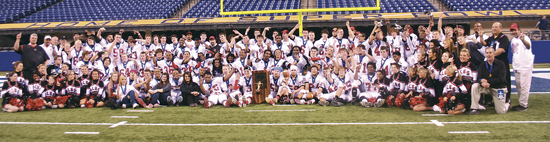 BISHOP LUERS 2A STATE CHAMPIONS 2011