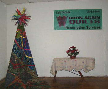 """""""Oh! Christmas Tree!"""" where spiritual inspiration, engineering and quilting meet!"""