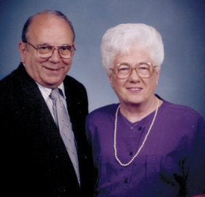 YOUNGS CELEBRATE 65TH WEDDING ANNIVERSARY