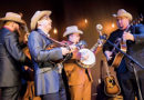 TOP-NOTCH BLUEGRASS  BANDS ON STAGE
