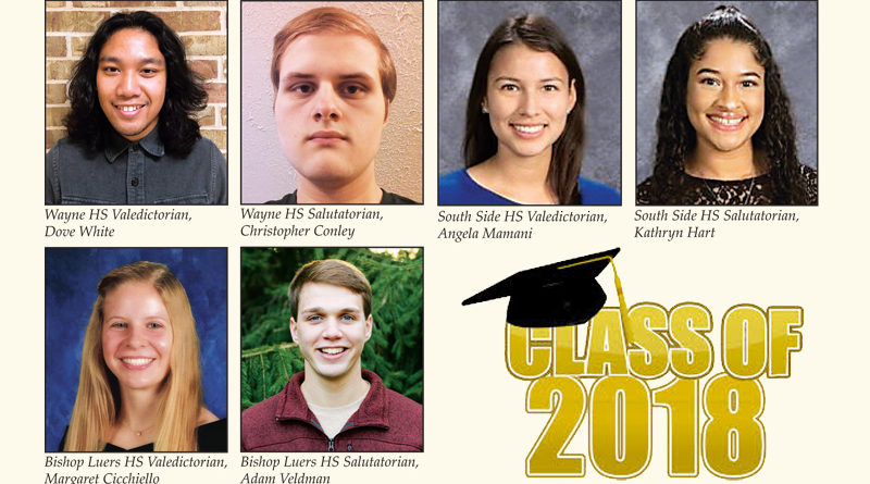 TOP STUDENTS LEAD CLASS AT AREA HIGH SCHOOL GRADUATIONS