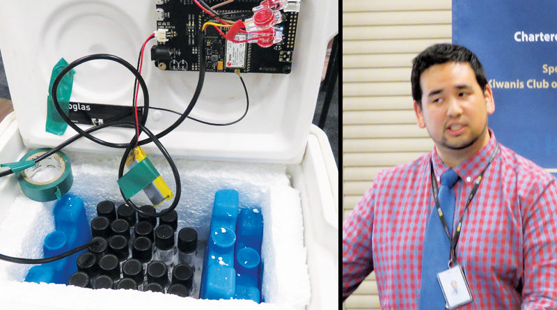 NEW TECH KEY CLUB INNOVATES VACCINE TEMP MONITORING SYSTEM