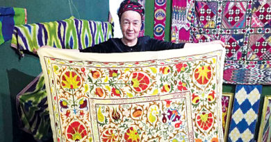 THE ANCIENT TEXTILE TRADITIONS OF UZBEKISTAN – Around The Frame