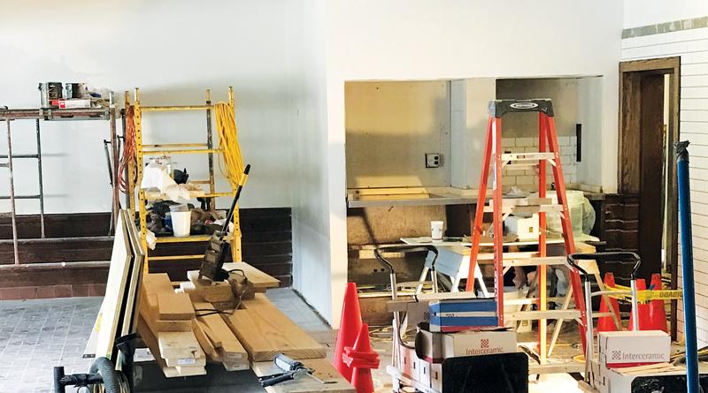 HALLS CLOSED & UNDER CONSTRUCTION OPENING SOON