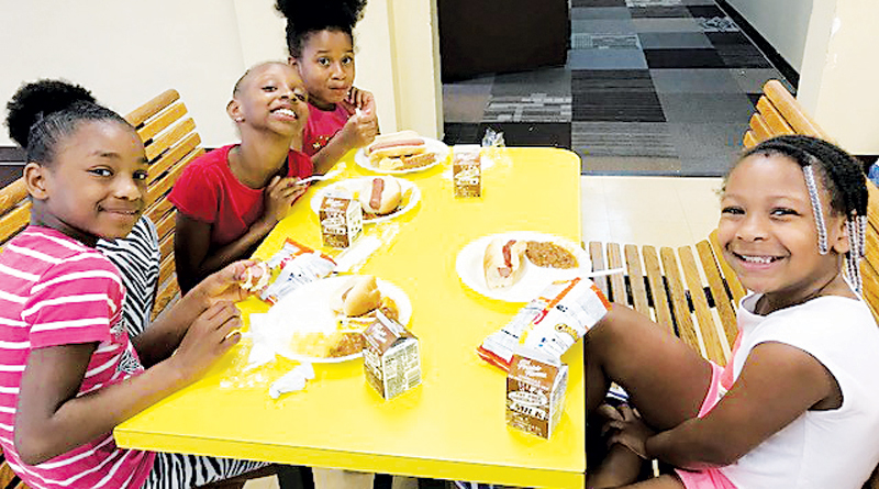 FIGHTING HUNGER WITH SUMMER LUNCHES