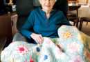 A GRANDMOTHER'S QUILT GOES  HOME FOR THANKSGIVING – Around The Frame