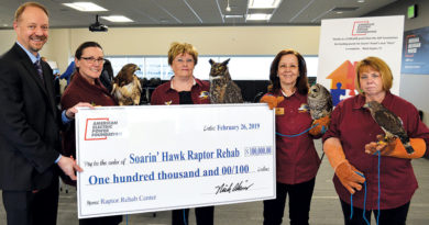 NEW SOARIN' HAWK RAPTOR CENTER TO TAKE FLIGHT WITH 100K GRANT