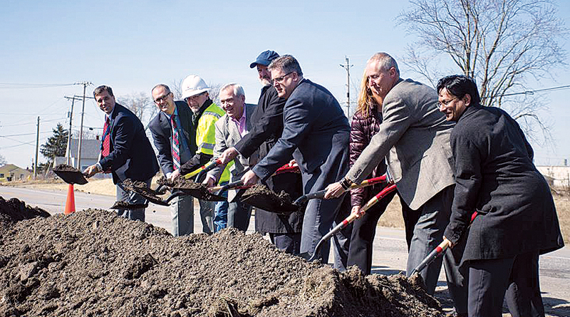 BREAKING GROUND ON ARDMORE AVENUE GATEWAY PROJECT