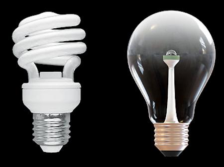 CFL vs LED light Blulb
