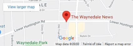 Map Of The Waynedale News