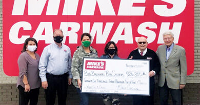 MIKE'S CARWASH RAISES $26,000 FOR BIG BROTHERS BIG SISTERS
