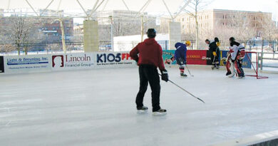 HEADWATERS PARK ICE RINK OFFERS POSITIVE OUTDOOR ACTIVITIES