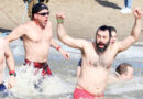 SWIMMERS TAKE A FRIGID PLUNGE TO SUPPORT THE SPECIAL OLYMPICS