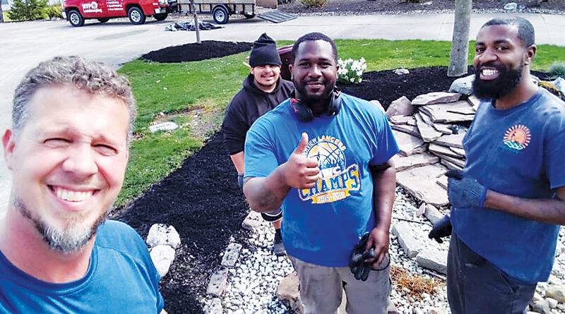 NON-PROFIT LANDSCAPERS EMPLOY & INSPIRE YOUNG ADULTS